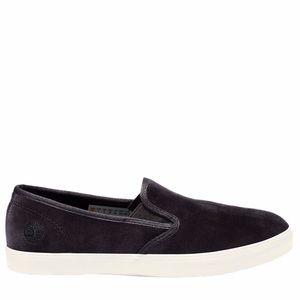 Timberland Dausette slip on velvet black shoes